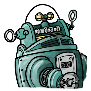 Robby the Robot from couldbeworse-comic.com